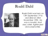 Fantastic Mr Fox by Roald Dahl (slide 11/103)