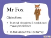 Fantastic Mr Fox by Roald Dahl (slide 26/103)