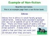 Fiction and Non-fiction (slide 4/8)