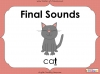 Final Sounds - EYFS (slide 1/18)