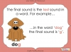Final Sounds - EYFS (slide 4/18)