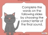 Final Sounds - EYFS (slide 5/18)