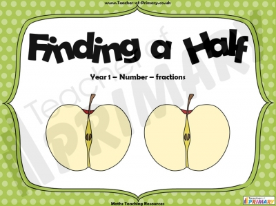 Finding a Half  - Year 1
