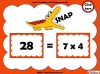 Four Times Table Snap (slide 11/26)