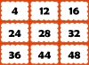Four Times Table Snap (slide 22/26)
