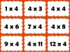 Four Times Table Snap (slide 23/26)
