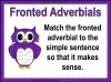 Fronted Adverbials (slide 9/21)