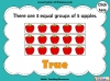 Grouping - Making Equal Groups - Year 1 (slide 20/33)