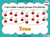 Grouping - Making Equal Groups - Year 1 (slide 23/33)