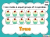 Grouping - Making Equal Groups - Year 1 (slide 25/33)