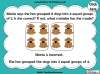 Grouping - Making Equal Groups - Year 1 (slide 30/33)