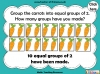 Grouping - Making Equal Groups - Year 1 (slide 7/33)