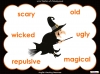 Halloween Adjectives (slide 11/26)