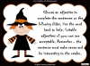 Halloween Adjectives (slide 20/26)