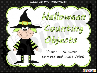 Halloween Counting Objects