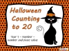 Halloween Counting to 20 (slide 1/22)
