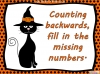 Halloween Counting to 20 (slide 9/22)