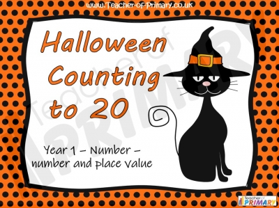 Halloween Counting to 20