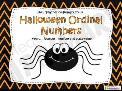 Halloween Ordinal Numbers
