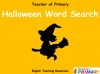 Halloween Word Search (slide 1/5)