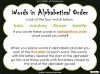 Halloween Words - Using a Dictionary (slide 19/34)