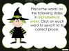 Halloween Words - Using a Dictionary (slide 21/34)