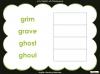 Halloween Words - Using a Dictionary (slide 26/34)
