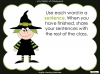 Halloween Words - Using a Dictionary (slide 33/34)