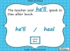 Homophones - Year 3 and 4 (slide 13/19)