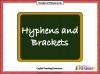 Hyphens and Brackets