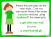 Hyphens to Avoid Ambiguity - Year 5 and 6 (slide 18/28)