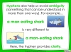 Hyphens to Avoid Ambiguity - Year 5 and 6 (slide 9/28)
