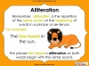 Introducing Alliteration - KS1 (slide 12/13)
