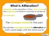 Introducing Alliteration - KS1 (slide 3/13)