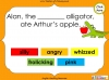 Introducing Alliteration - KS1 (slide 8/13)
