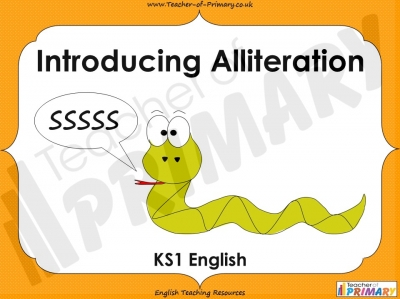 Introducing Alliteration - KS1