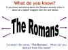 Introducing The Romans (slide 5/11)