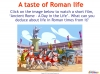 Introducing The Romans (slide 6/11)