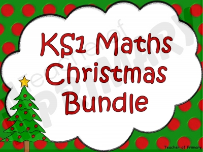 KS1 Maths Christmas Bundle