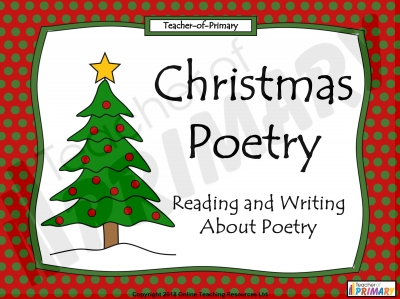 KS2 Christmas Poetry Unit
