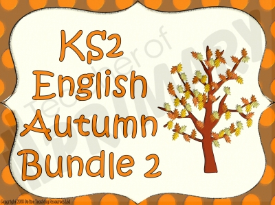 KS2 English Autumn Bundle 2