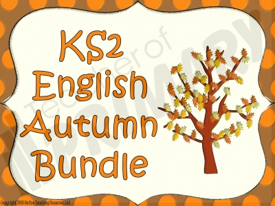 KS2 English Autumn Bundle
