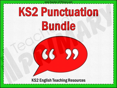 KS2 Punctuation Bundle