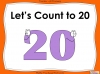 Let's Count to 20 - EYFS (slide 1/85)
