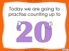Let's Count to 20 - EYFS (slide 2/85)