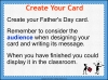 Make a Father's Day Card (slide 13/20)
