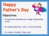 Make a Father's Day Card (slide 2/20)