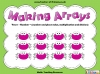 Making Arrays - Year 1 (slide 1/48)