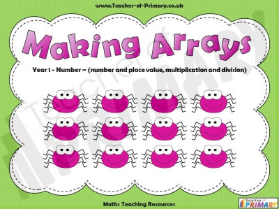 Making Arrays - Year 1