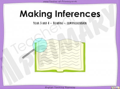 Making Inferences - Year 3 and 4